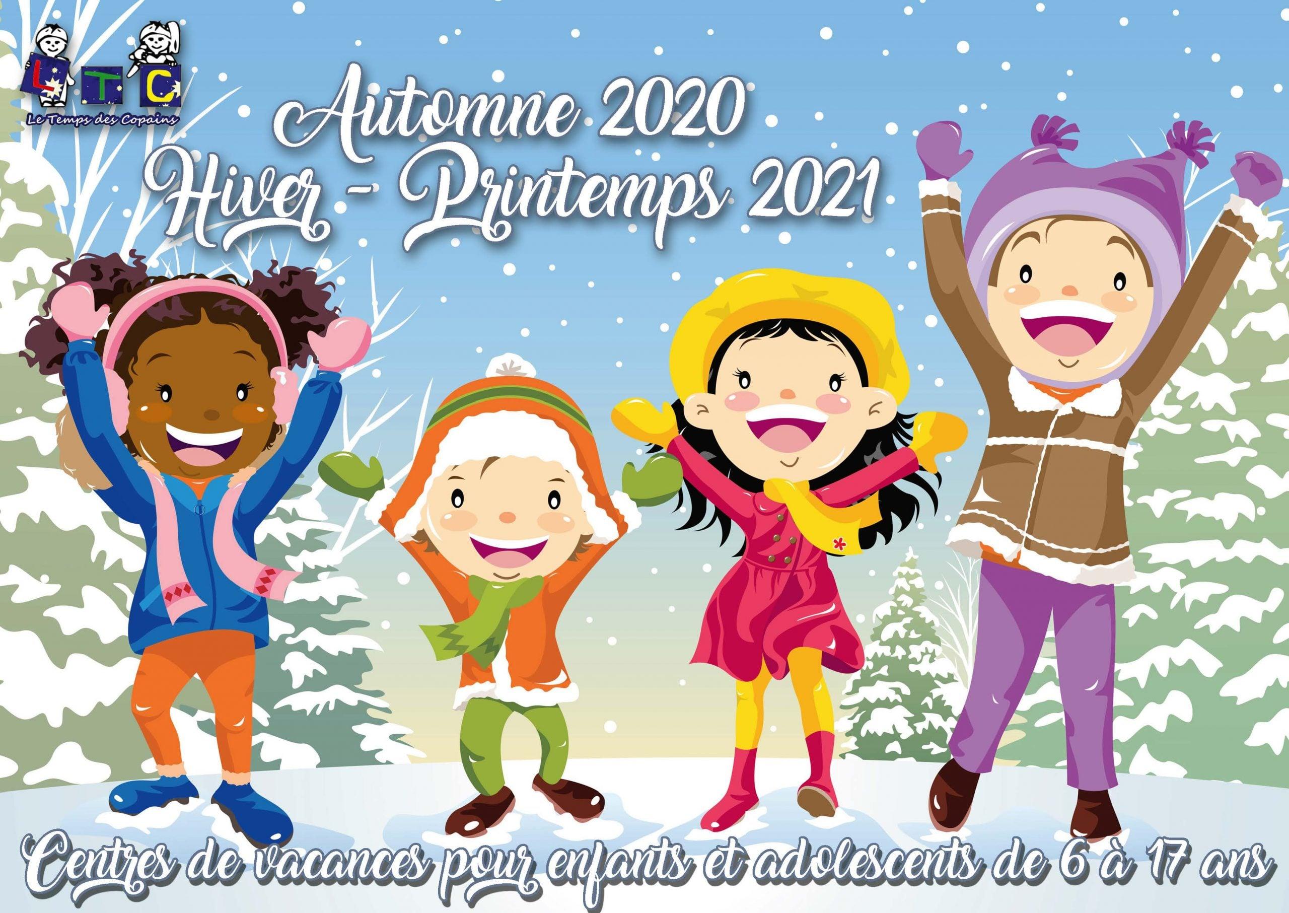 Couverture Brochure Hiver 2021
