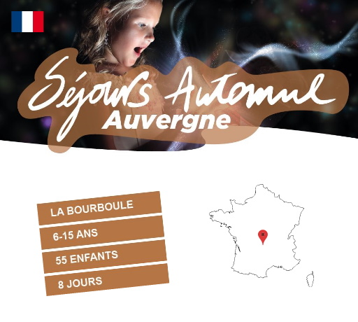Séjours Automne - La Bourboule- Auvergne - Le Temps Des Copains - LTC