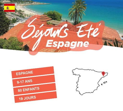 Séjours Eté - Coma-Ruga - Espagne - Le Temps Des Copains - LTC