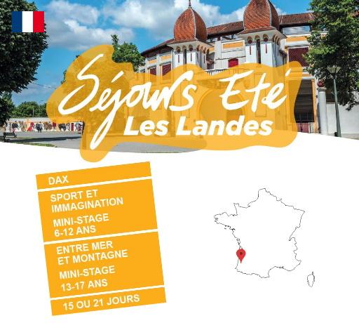 Séjours Eté - Dax - Les Landes - Le Temps Des Copains - LTC