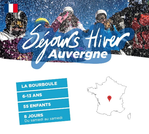 Séjours Hiver - La Bourboule- Auvergne - Le Temps Des Copains - LTC