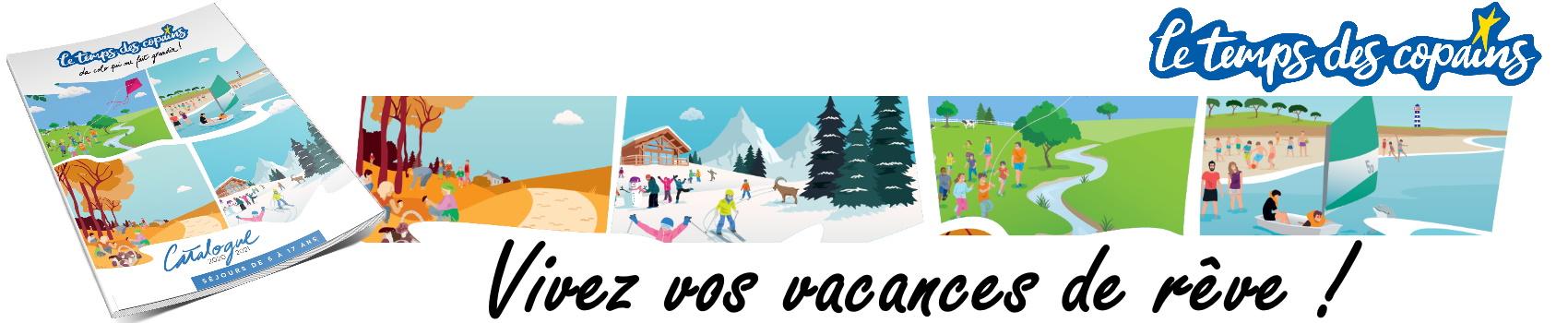 Depuis plus de 10 ans - Vos séjours de vacances avec l'association Le Temps Des Copains - LTC