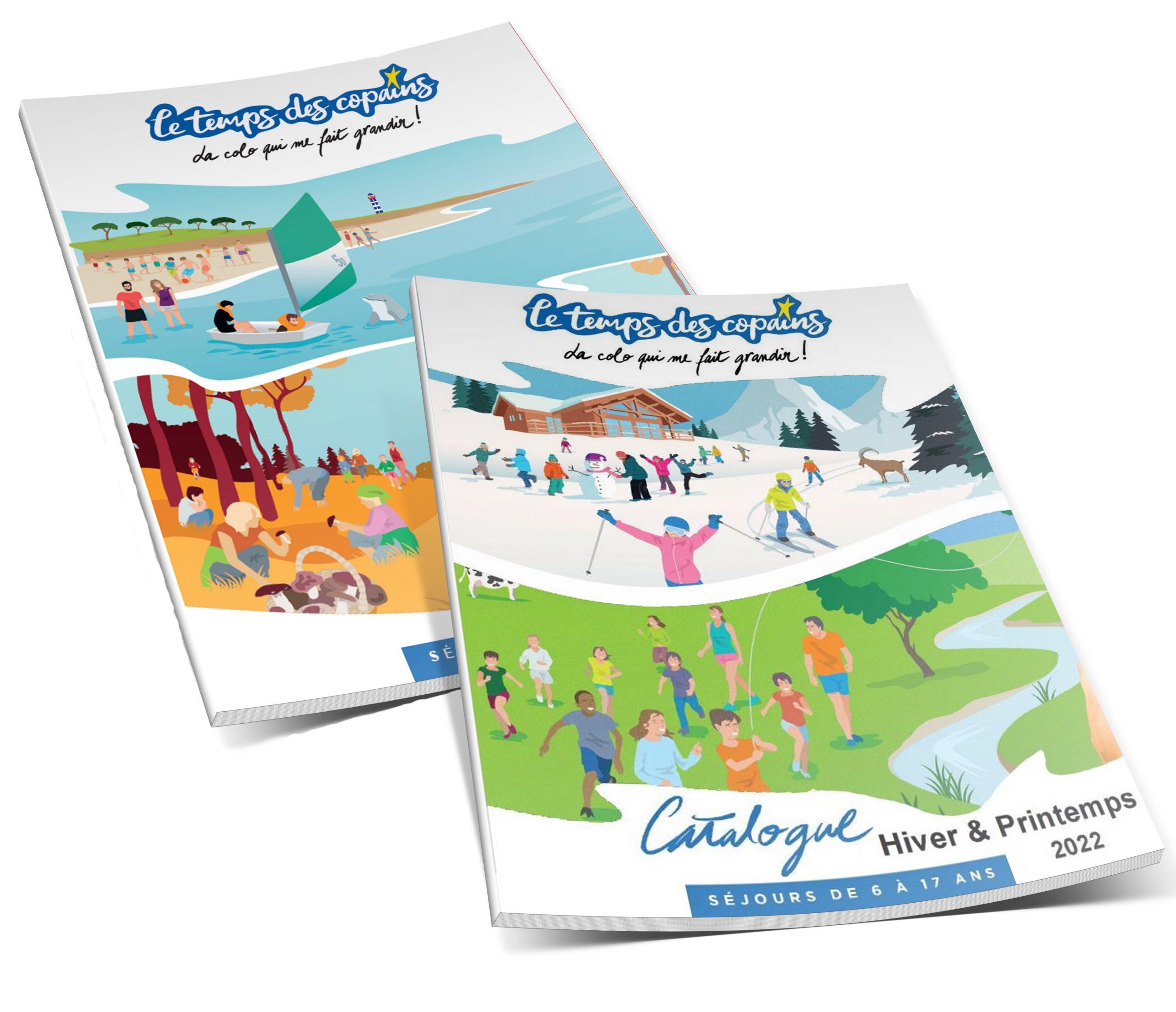 Catalogue Eté Automne 2021 - Hiver Printemps 2022 - Séjours & Colonies - Association Le Temps Des Copains - LTC