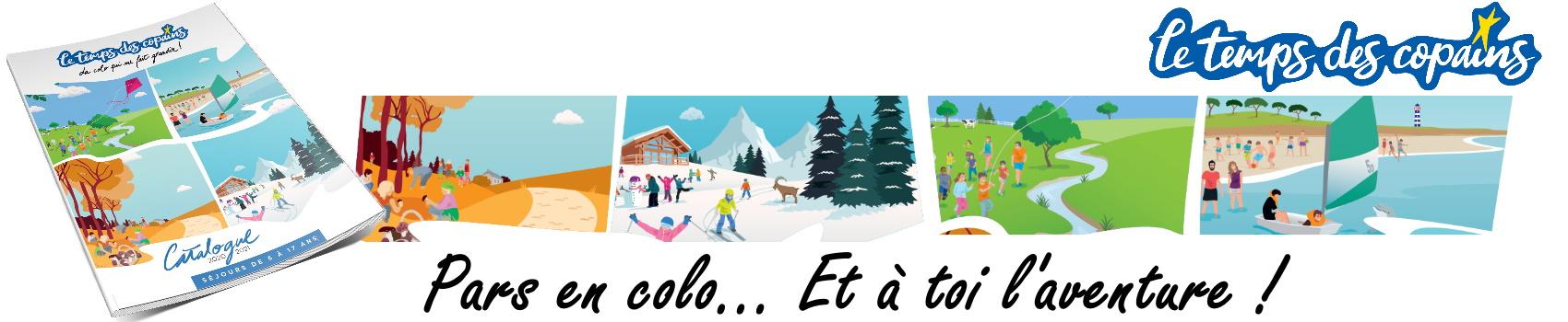 Depuis plus de 10 ans - Vos colonies et vos séjours de vacances avec l'association Le Temps Des Copains - LTC