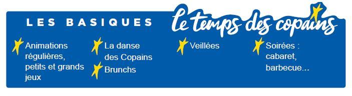 Les activités  basiques - Séjours Eté - Auvergne - La Bourboule - Le Temps Des Copains - LTC