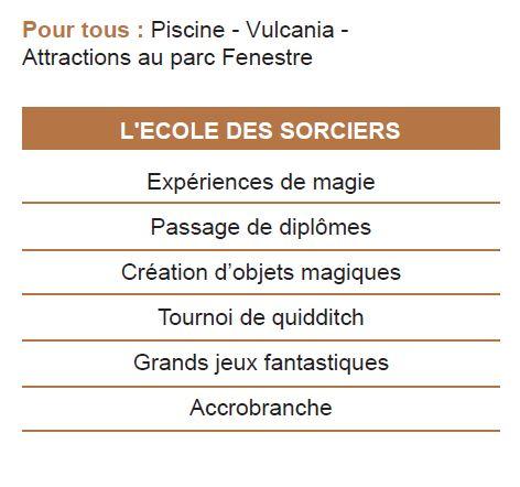 Activites-1 Séjours Automne - Auvergne - La Bourboule - Le Temps Des Copains - LTC