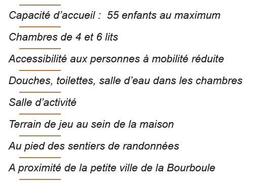 Le centre - Séjours Automne - Auvergne - La Bourboule - Le Temps Des Copains - LTC