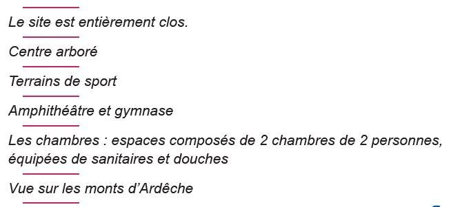 Le-Centre - Séjours Eté - Aubenas - Ardèche - Le Temps Des Copains - LTC
