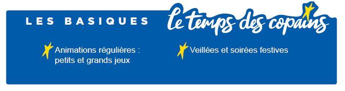 Les basiques - Séjours Automne - Auvergne - La Bourboule - Le Temps Des Copains - LTC